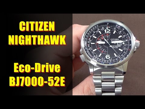 Citizen Nighthawk Eco-Drive BJ7000-52E