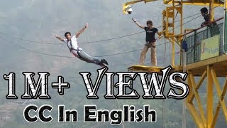 Bungee Jumping at Rishikesh India| Thrilling experience and highest jump point in India