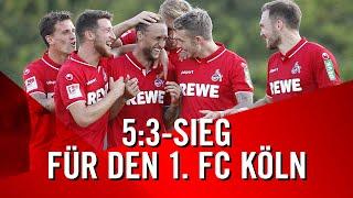 5:3-SIEG für den 1. FC KÖLN im Testspiel gegen den 1. FSV MAINZ 05