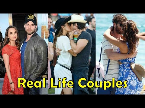 Real Life Couples of The Vampire Diaries