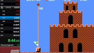 Super Mario Bros. Warpless Speedrun in 19:10.38