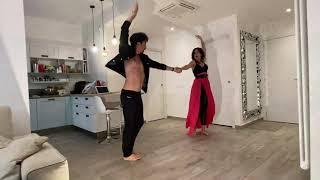Samuel Peron e Tania Bambaci - ballando a casa - Paso Doble