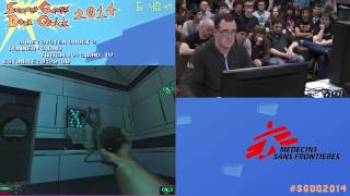 SGDQ 2014 - System Shock 2 - CIRNO - Speedrun