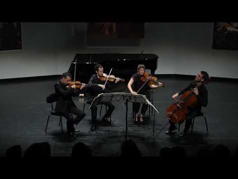 The Ebène Quartet plays Fauré quartet e-minor