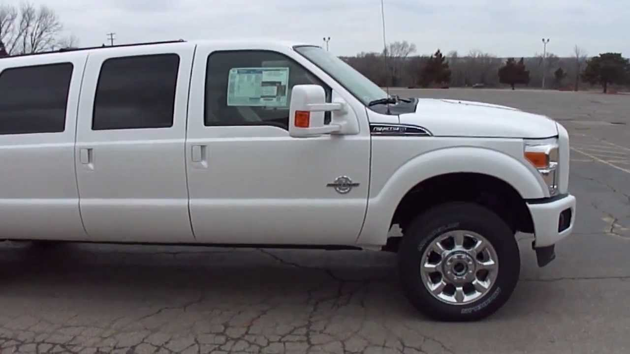 2013 Ford Excursion Six Door YouTube