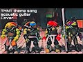 Teenage Mutant Ninja Turtles theme song  acoustic cover with stop  motion