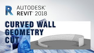 How to Make Curved Wall Cut by Void Swept Blend in Revit #004