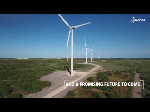 San Roman wind farm: ACCIONA's newest wind power installation in the US