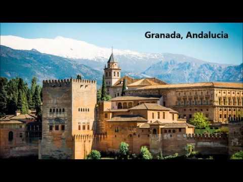 MALAGUENA FLAMENCO SPAIN GUITAR ANDALUCIA GRANADA ALLHAMBRA