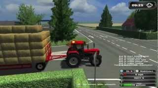 Repeat youtube video Bale driving ★ Bloopers in Farming Simulator [HD]