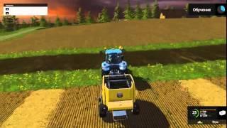Урок 7: Круглый тюковщик Farming Simulator 2015