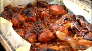 Easy Oven Baked Chicken Recipe Jamaica Way | Recipes By Chef Ricardo