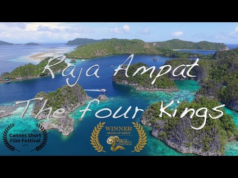 Raja Ampat - The four Kings 4K UHD
