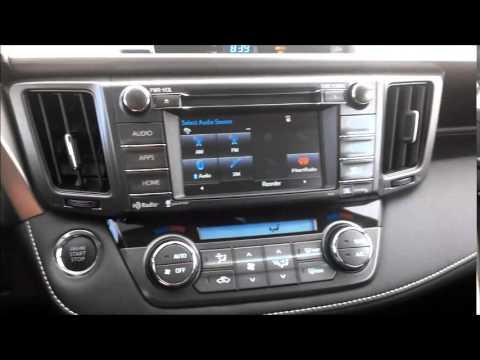 Toyota rav4 interior 2015