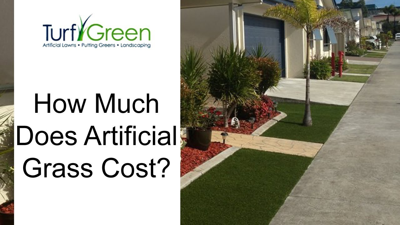 How Much Does Artificial Grass Cost Turf Lawn Astroturf Youtube