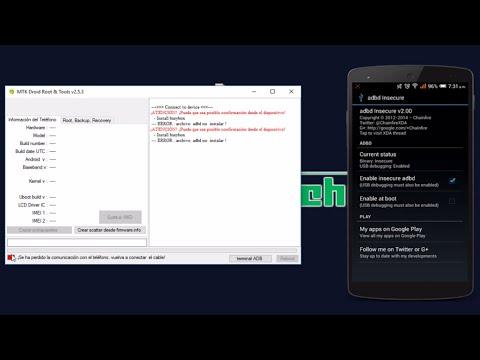 [SOLUCIÓN] MTK Droid Tools -- ERROR: archivo adbd no instalar!