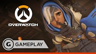 Ana Full Match Gameplay - Overwatch