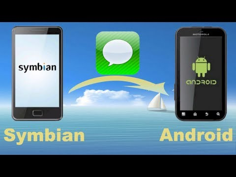 How to Copy text Messages from Symbian to Android? How to transfer data between Symbian and Android?