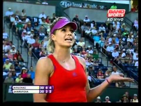 Maria Sharapova vs Maria Kirilenko hindrance call
