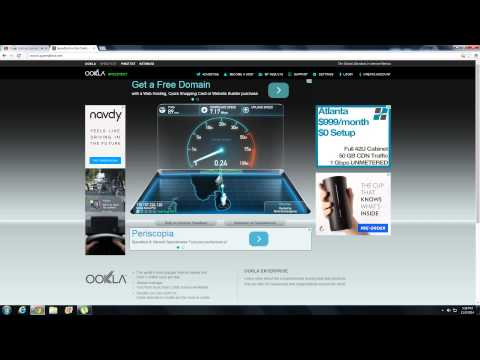 Dialog HSPA+ Speed Test