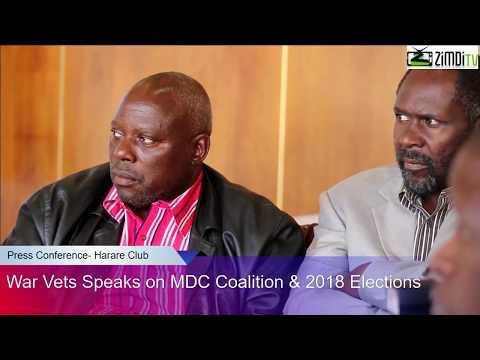 War Vets Speaks on MDC Coalition & 2018 Elections