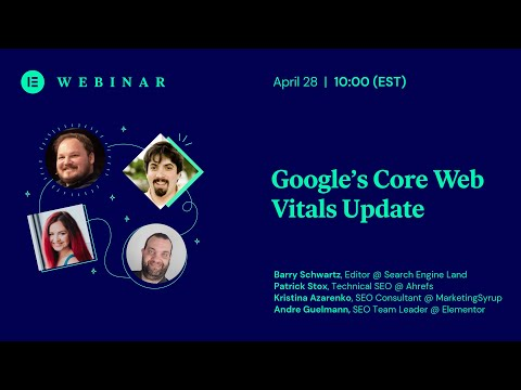 Webinar: Google Core Web Vital Update