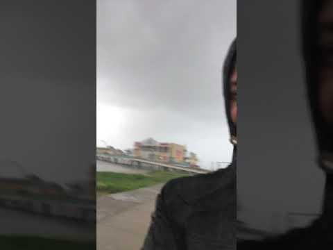 Hurricane Harvey Galveston Island 8-26-17