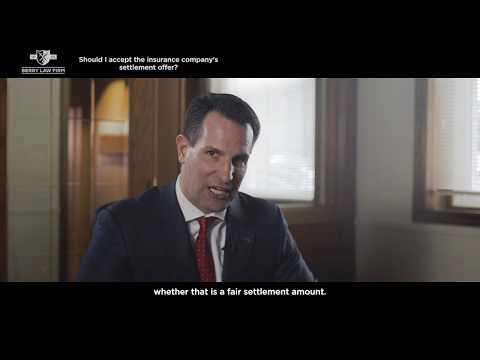 Should I accept the insurance company's settlement offer? | Nebraska Injury Lawyers