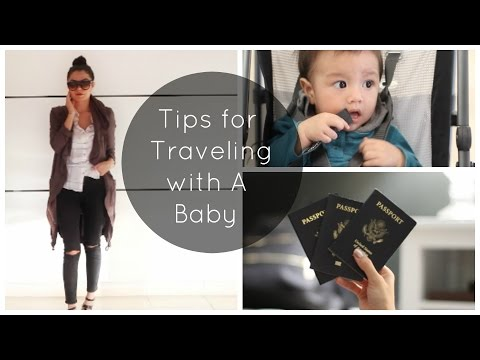 Tips for Traveling with A Baby/Toddler