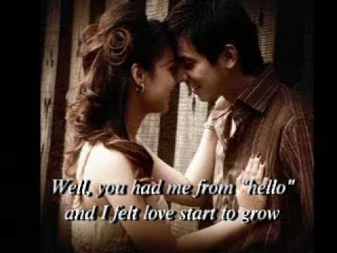 YOU HAD ME FROM HELLO by Kenny Chesney