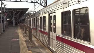 東武9000系9104F多摩川駅通過