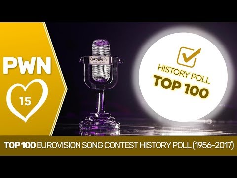 PWN #15: Top 100 Eurovision Song Contest History Poll (1956-2017)
