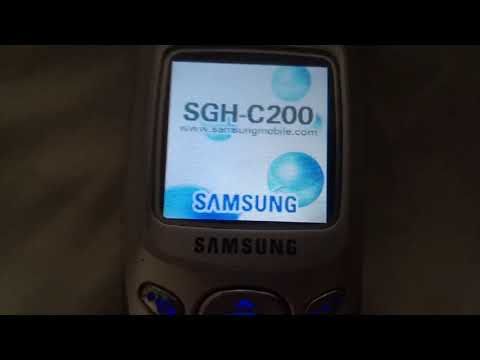 """Samsung Anycall SGH-C210 - on/off """"classical"""""""