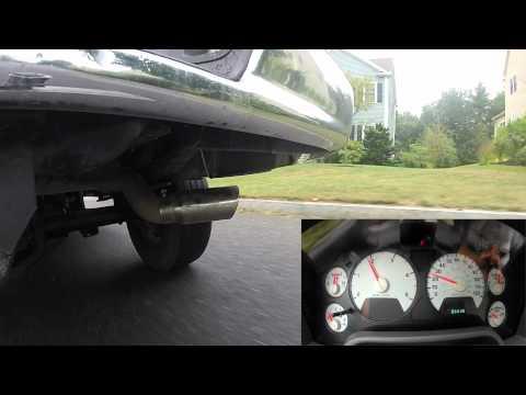 2007 6.7L Cummins 4 Inch Cat Back DPF Delete Exhaust System