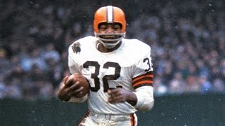 Former cleveland browns running back jim brown left the game at his peak and still sits atop record books. making mark on off field, he is a ...