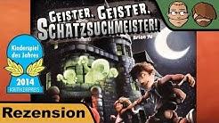 Geister Geister Schatzsuchmeister (Kinderspiel des Jahres 2014) - Brettspiel Test - Board Game #15