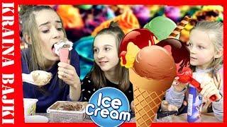ICE CREAM CHALLENGE! Czy Monia Zrobi Największego Loda?