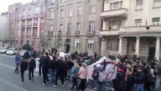 Protesti u Novom Sadu 05. 04. 2017.