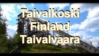 Ski Jumping Tower Taivalkoski Finland Kalle Päätalo Kalle Päätalon maisemissa