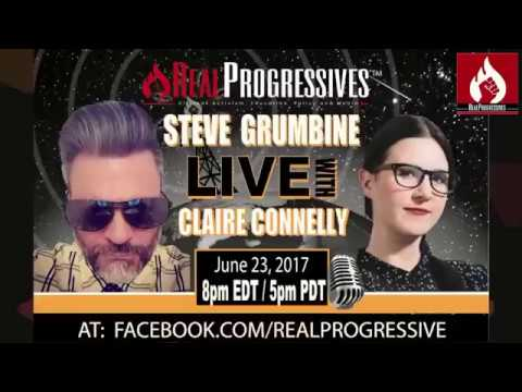 Claire Connelly, independent journalist from Australia joins Real Progressives