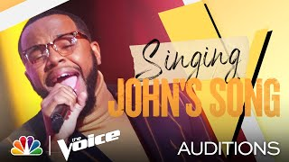 "Victor Solomon Is Soulful on Common and John Legend's ""Glory"" - The Voice Blind Auditions 2021"
