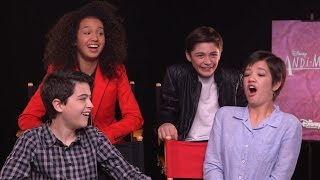 Disney Channel's Andi Mack Cast Plays Superlative Game!