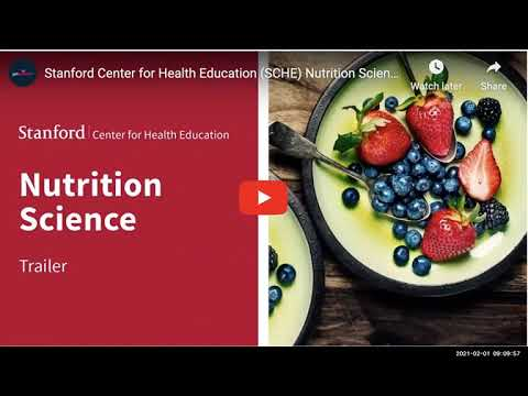 An Overview of Science of Nutrition