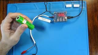 Універсальний лічильник ємності акумуляторів ZB2L3 (V. 2.2), тестр ємності акумуляторів