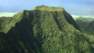 Avarua, capitale de l'île Rarotonga parmi les îles Cook