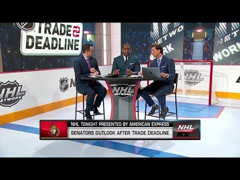 NHL Tonight:  What the Senators outlook is from the trade deadline  Feb 25,  2019