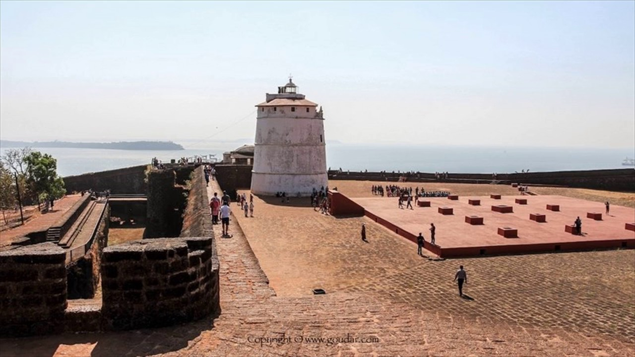 Image result for aguada fort goa