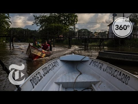 Justice on a Floating Courtroom | The Daily 360 | The New York Times