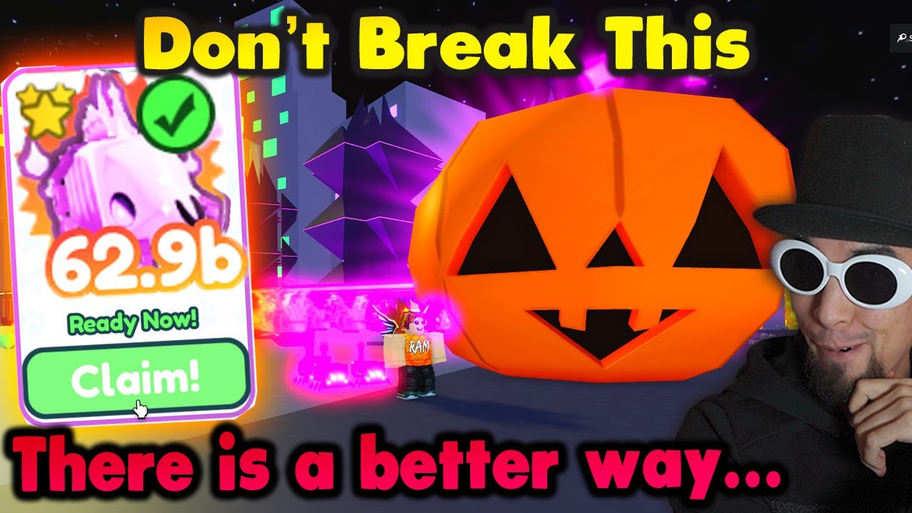 Download 🎃I Got The Dark Matter Ghoul Horse Then This Happened...in Halloween Event Pet Simulator X