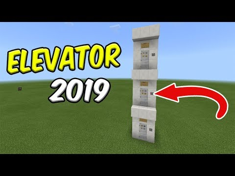How to Make an ELEVATOR in Minecraft PE ( No Redstone/ No Commands/ No Addons/ No Mods )